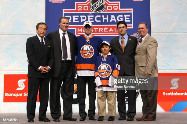 Team owner Charles Wang General Manger Garth Snow John Tavares Assistant General Manager/Director of Amateur Scouting Ryan Jankowski and Pro Scout...