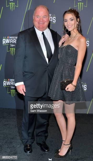 NASCAR team owner Chip Ganassi attends the Monster Energy NASCAR Cup Series awards at Wynn Las Vegas on November 30 2017 in Las Vegas Nevada