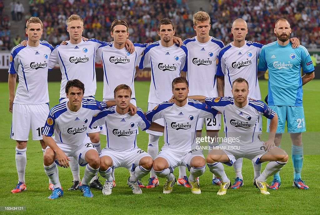 Team Photo Of Fc Kobenhavn Thomas Kristensen Nicolai Jorgensen