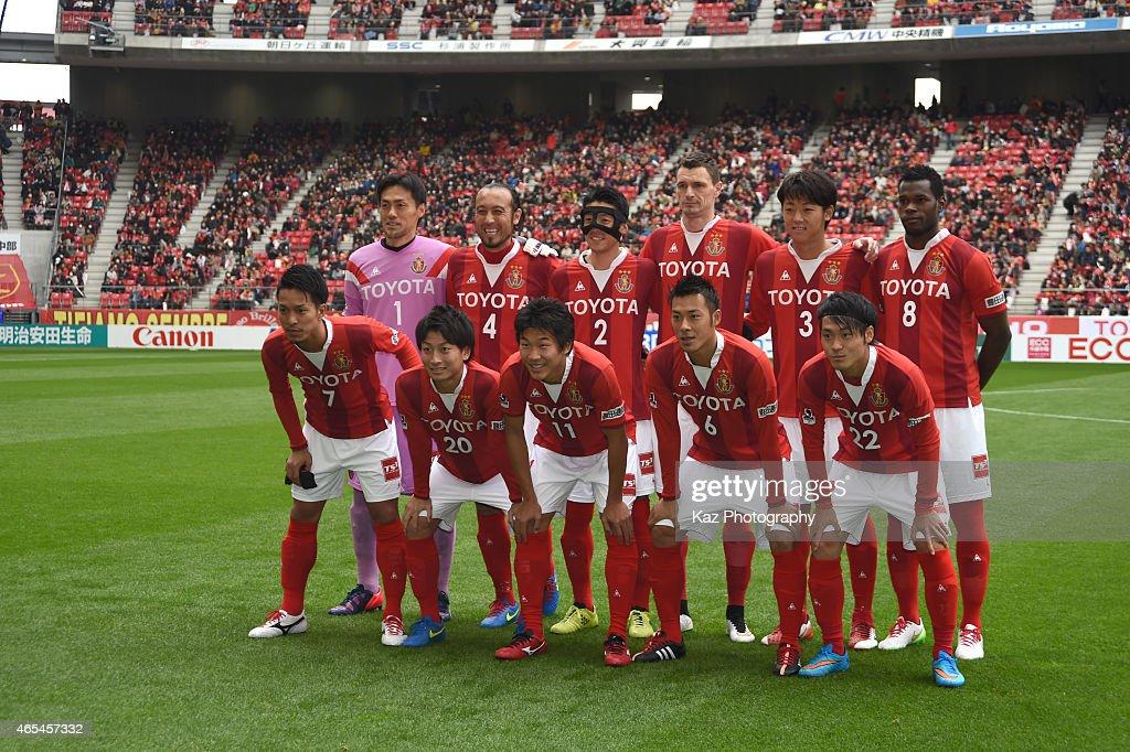 Nagoya Grampus v Matsumoto Yamaga - J.League 2015 : News Photo