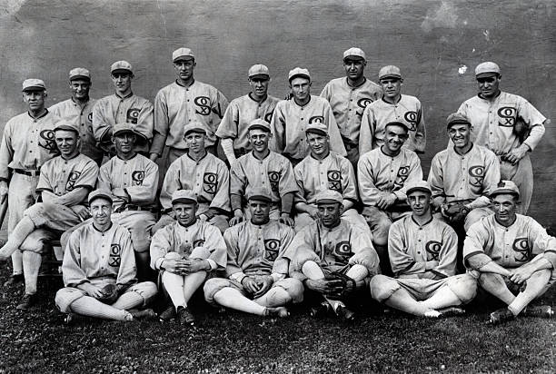 "IL: 28th September 1920 - Eight Members of the Chicago White Sox Indicted for Throwing the World Series in the ""Black Sox Scandal"""