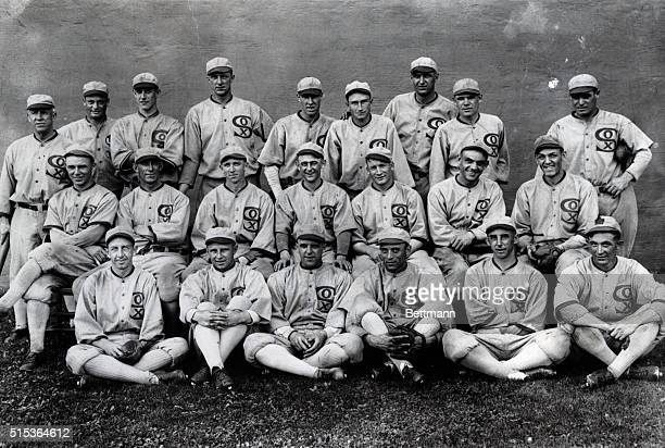 Team photograph of the Chicago White Sox, the team that was involved in the Chicago Black Sox scandal. BPA2# 4673