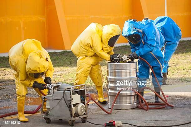 hazmat team - hazard stock pictures, royalty-free photos & images