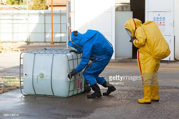 hazmat team - chemical stock pictures, royalty-free photos & images