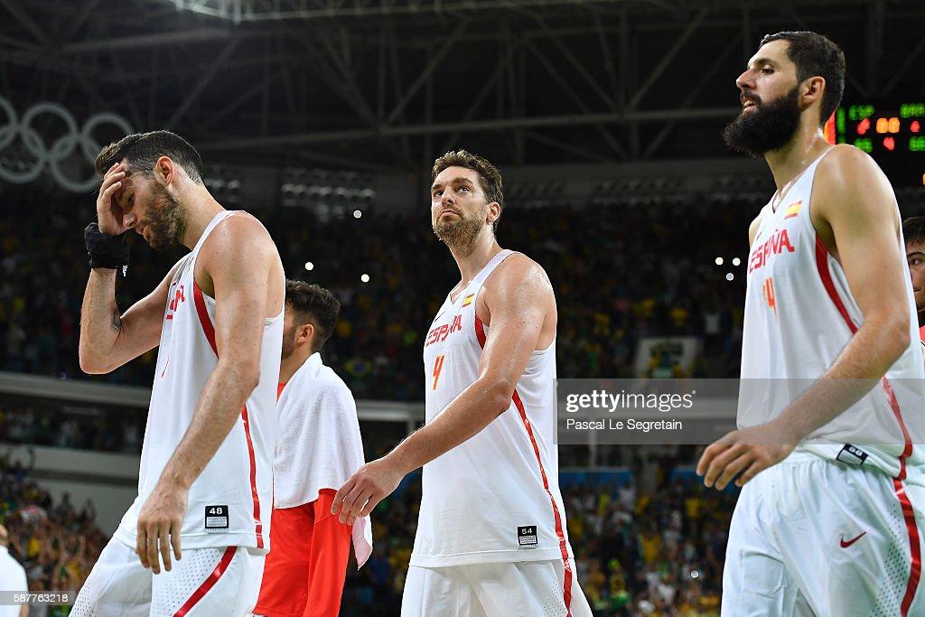 Basketball - Olympics: Day 4 : News Photo