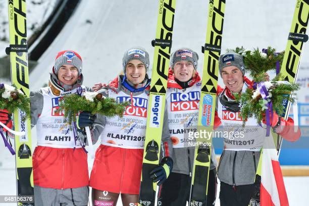 Team Poland takes GOLD in Men Large Hill Team final in ski jumping, at FIS Nordic World Ski Championship 2017 in Lahti. On Saturday, March 4 in...