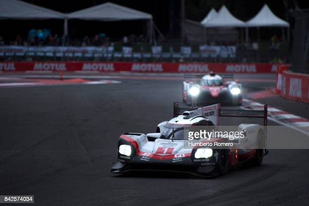Team Porsche LMP during the 6 Hours of Mexico Practice as part of FIA World Endurance Championship at Hermanos Rodriguez Race Track on September 03,...