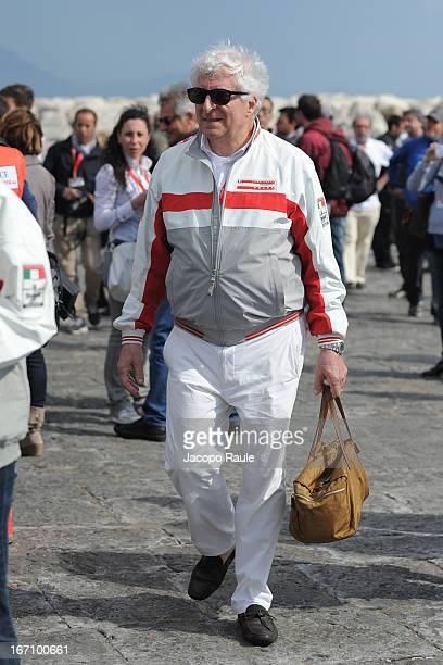 Team principal of Team Luna Rossa, Patrizio Bertelli attends America's cup World Series Naples on April 20, 2013 in Naples, Italy.