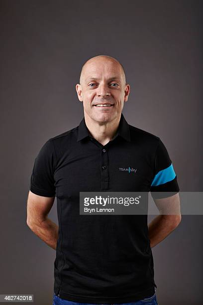 Team Principal Sir Dave Brailsford poses during a Team SKY portrait session on October 21 in Weymouth, England.