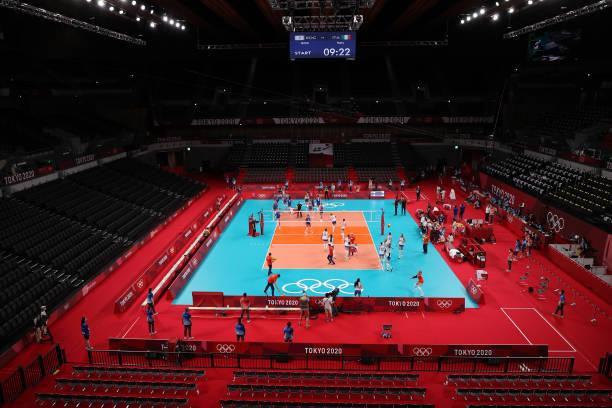 JPN: Volleyball - Olympics: Day 2