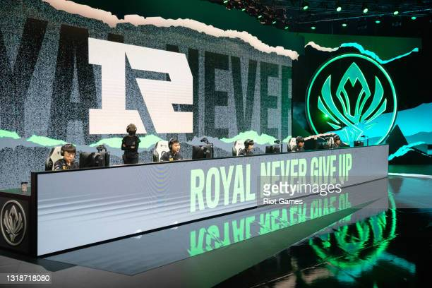 Team Royal Never Give Up at the 2021 MSI annual League of Legends Rumble Stage: Day 5 on May 18, 2021 in Reykjavik, Iceland.