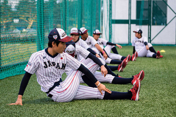 CHN: Japan v Chinese Taipei - Women's Baseball Asian Cup Super Round