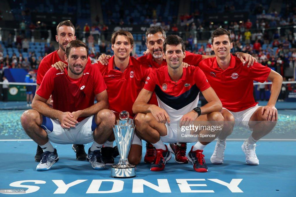 2020 ATP Cup - Sydney: Day 10 : ニュース写真