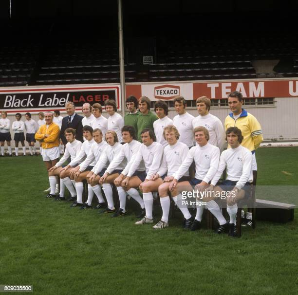 Team shot for Derby County's 1973/1974 Season From left back row Jimmy Gordon Peter Taylor Terry Hennessey David Nish John Sims Graham Mosely Colin...