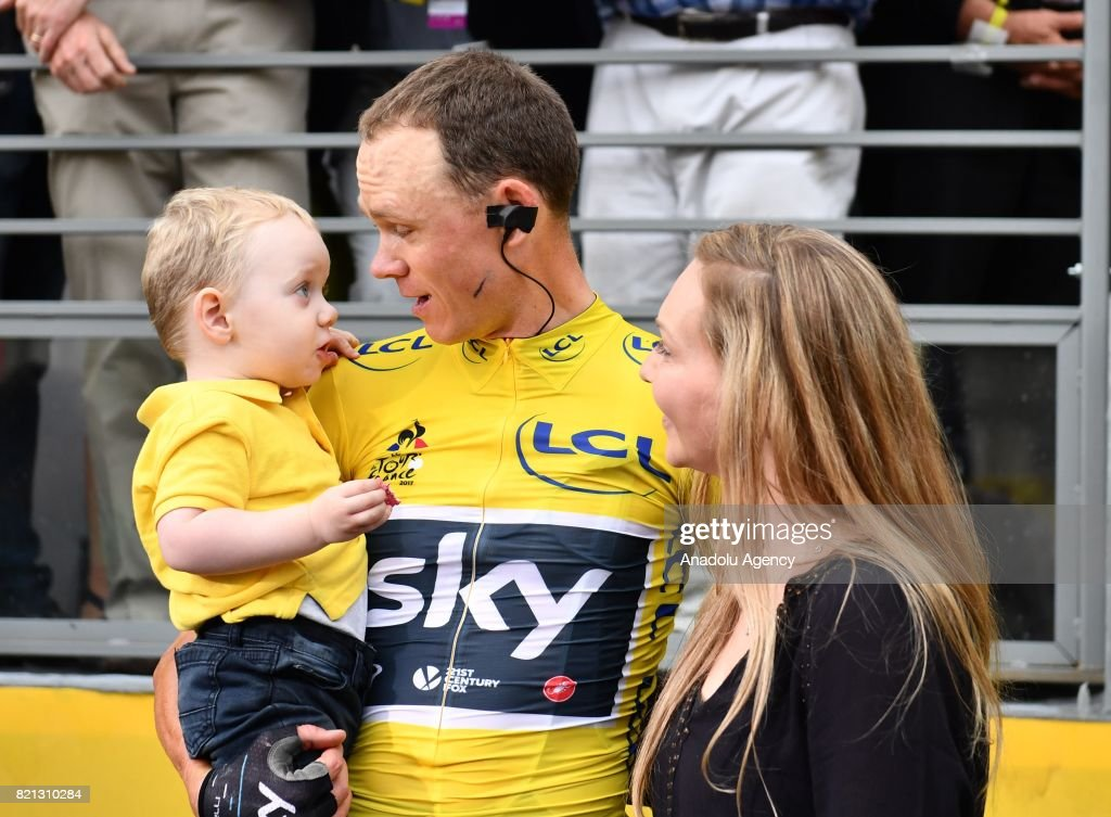 Christopher Froome wins his fourth Tour de France : ニュース写真