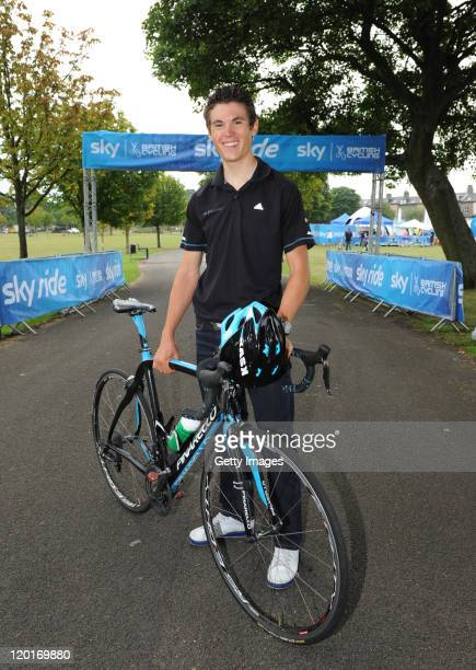 Team Sky's Ben Swift joined thousands of participants at Sky Ride Bradford on July 31 a free cycling event held in partnership with Sky British...