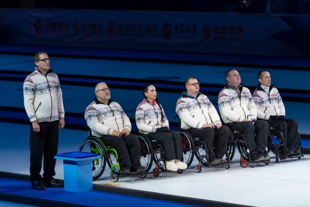 CHN: World Wheelchair Curling Championship 2021 -  USA v Slovakia