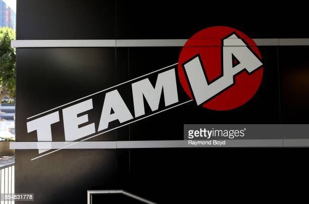 Team LA store at Staples Center home of the Los Angeles Lakers Los Angeles Clippers and Los Angeles Sparks basketball teams and Los Angeles Kings...