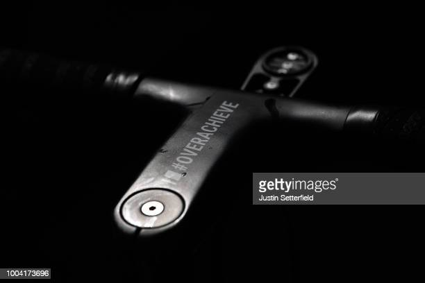 Team Sunweb / Giant Bike / Stem / Detail view / during the 105th Tour de France 2018 / Training Team Sunweb / TDF / Rest day / on July 23, 2018 in...