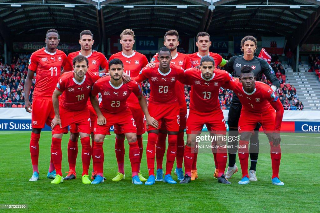 Switzerland v Gibraltar - UEFA Euro 2020 Qualifier : Nachrichtenfoto
