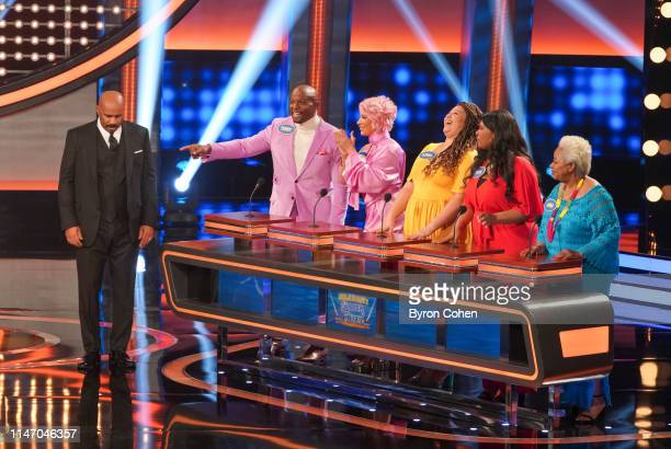 FEUD Team Teigen/Legend vs Team Vanderpump Rules and Karamo Brown vs Terry Crews The highly anticipated season 5 premiere of Celebrity Family Feud...