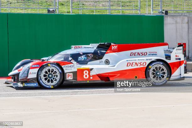 Team Toyota Gazoo Racing's Toyota TS050 Hybrid before Free Practice 2 at the WEC Lone Star Le Mans held February 22 at the Circuit of the Americas in...
