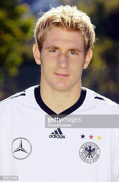 Team U21 2003 Fototermin Frankfurt Florian KRINGE