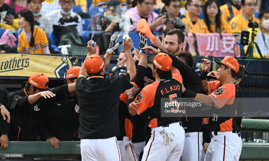 CTBC Brothers v Uni-Lions - Taiwan Series Game 7 : News Photo