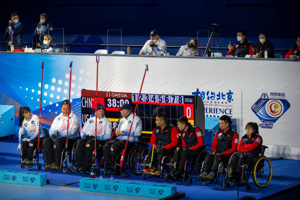 CHN: World Wheelchair Curling Championship 2021 - China v USA