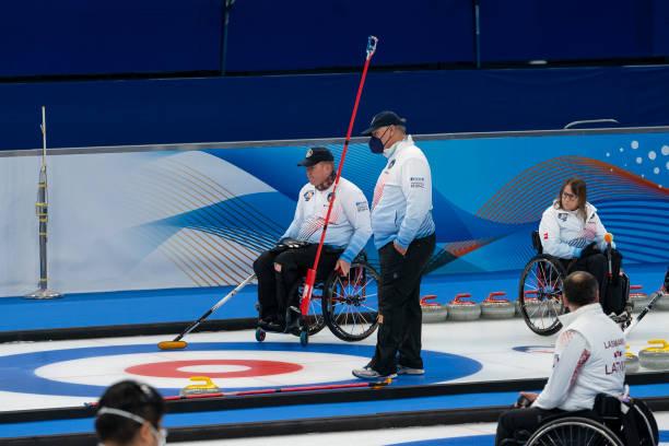 CHN: World Wheelchair Curling Championship 2021 - South Korea v USA