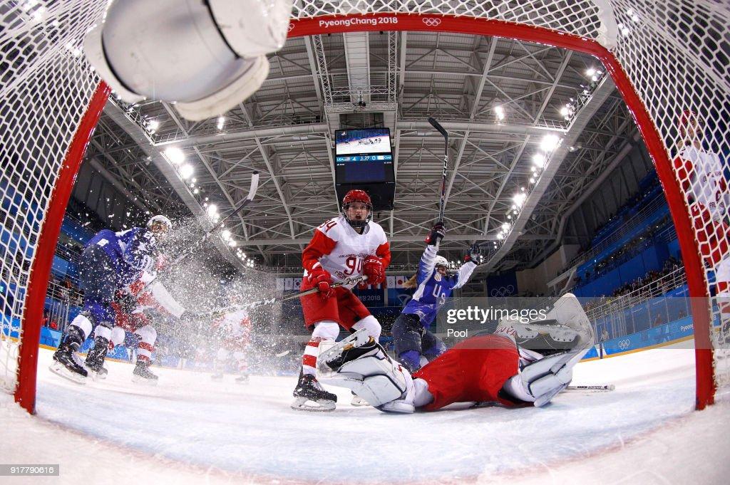 Ice Hockey - Winter Olympics Day 4 : News Photo