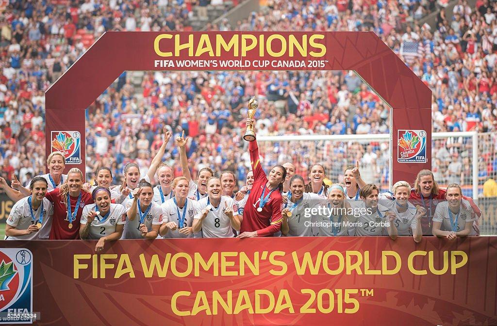 FIFA Women's World Cup 2015-USA vs. Japan : News Photo