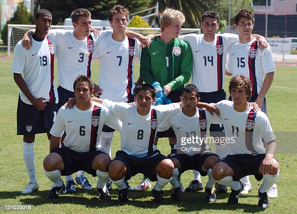 Team USA during the Portugal vs United States game of the 13th Lisbon International U18 Tournament in Lisbon Portugal on June 2 2007