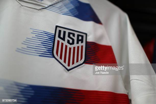 Team USA jerseys are seen as the World Cup tournament being held in Russia is set to kickoff on June 13 2018 in Miami Florida As the world prepares...