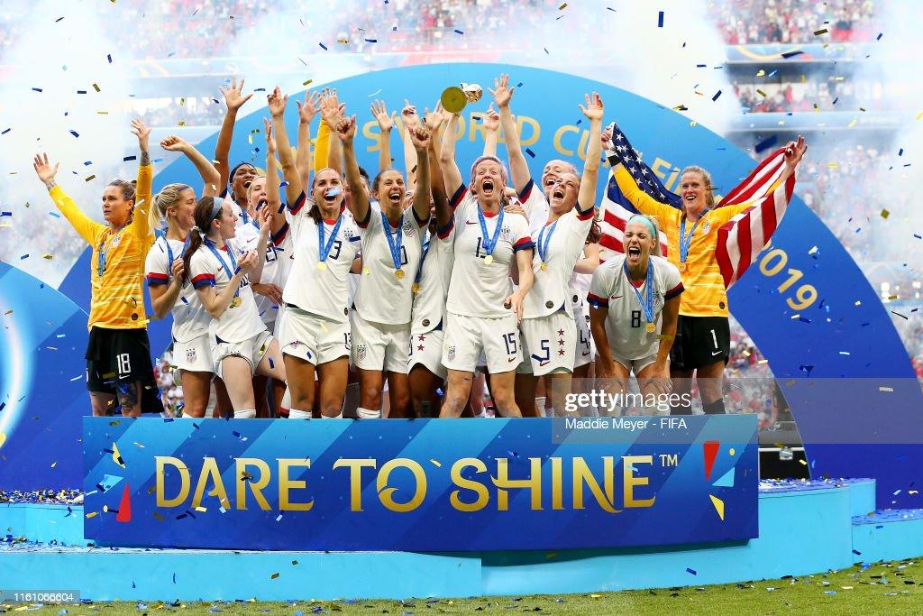 United States of America v Netherlands : Final - 2019 FIFA Women's World Cup France : ニュース写真