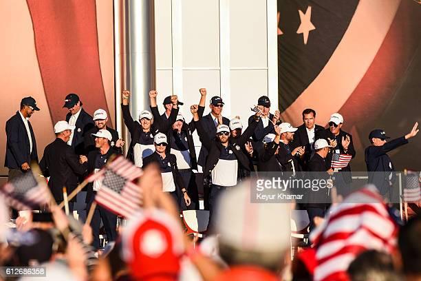 Team USA members Matt Kuchar Vice Captain Tiger Woods Jimmy Walker Brooks Koepka Vice Captain Bubba Watson Jordan Spieth Zach Johnson Vice Captain...