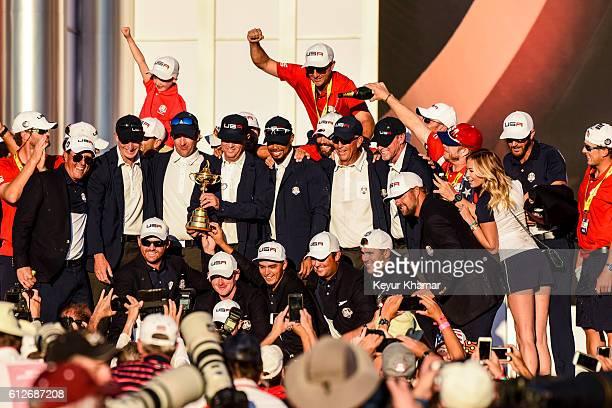 Team USA members Phil Mickelson Vice Captain Jim Furyk JB Holmes Vice Captain Bubba Watson Brandt Snedeker Captain Davis Love III Rickie Fowler Vice...