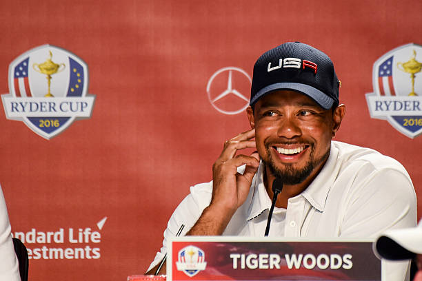 2016 Ryder Cup - Singles Matches - Tiger Woods