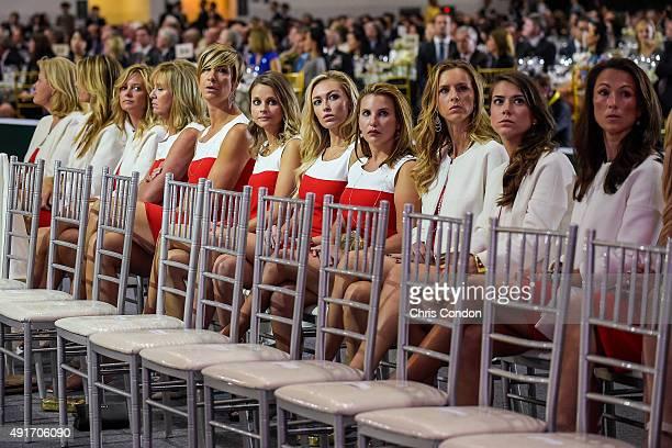 Team USA wives and girlfriends Jan Haas Suzanne Hannemann Tabitha Furyk Robin Love Angie Watson Tahnee Kirk Paulina Gretzky Erica Holmes Erin Walker...