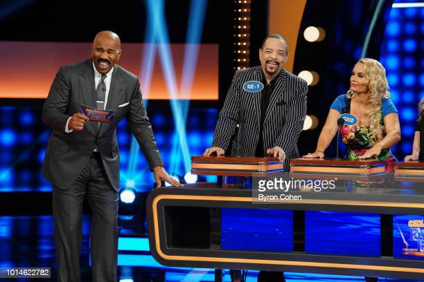 FEUD Team Vanilla Ice vs Kim Fields and Team IceT Coco vs Vivica A Fox The celebrity teams competing to win cash for their charities feature Vanilla...