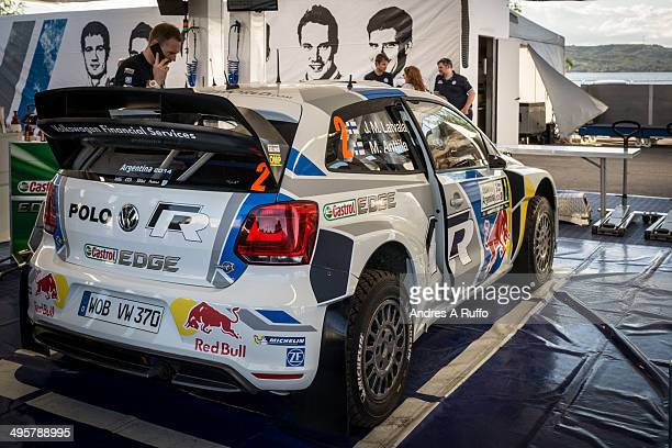 CONTENT] Villa Carlos Paz Argentina May 7 2014 Team Volkswagen Motorsport Jari Matti Latvala and Mikka Anttila park service in preparing the...