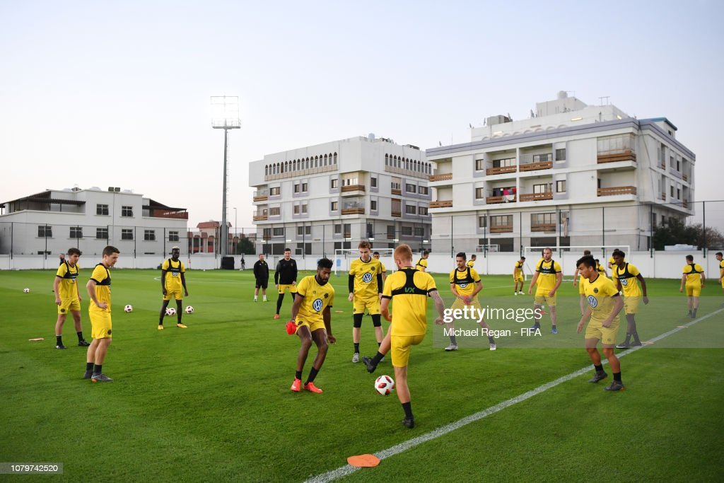 ARE: Team Wellington FC Training Session - FIFA Club World Cup UAE 2018
