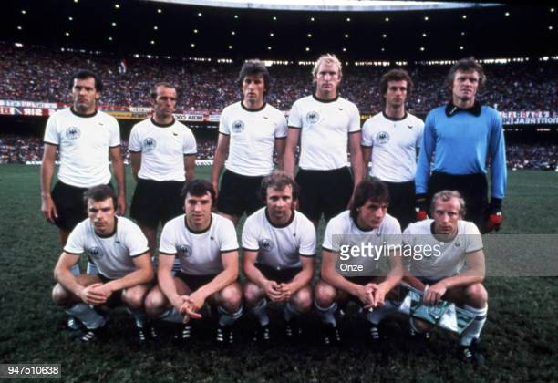 Team West Germany during a presentation of team qualifying for the World Cup 1978 in Argentina on 28th December 1977
