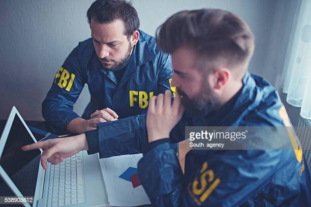 FBI team working