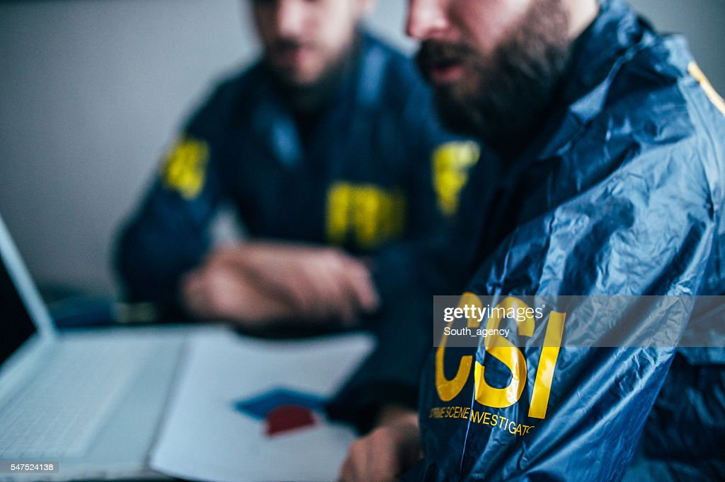 FBI team working : Stock Photo