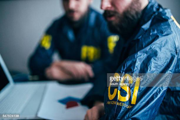FBI team working
