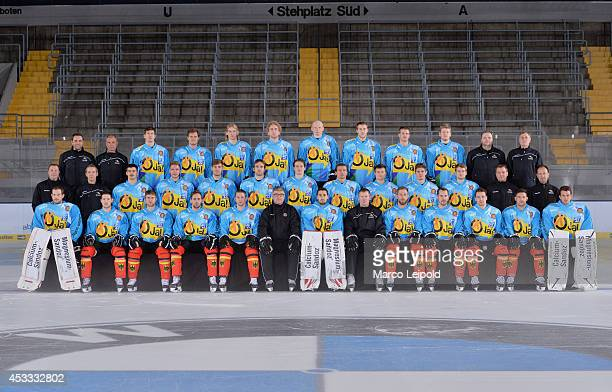 Teamfoto - Germany top row: Martin Abraham - Dr. Andreas Gröber - Frank Mauer - Felix Petermann - Torsten Ankert - Justin Krüger - Denis Reul -...