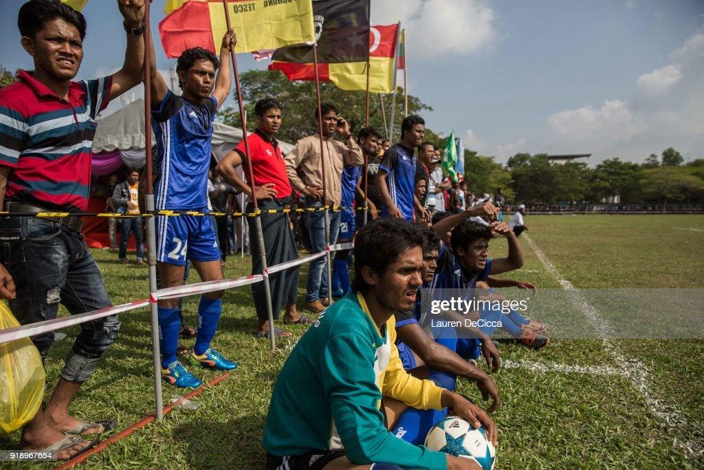 Stateless Rohingya Team Aims For Awareness Through Football : News Photo