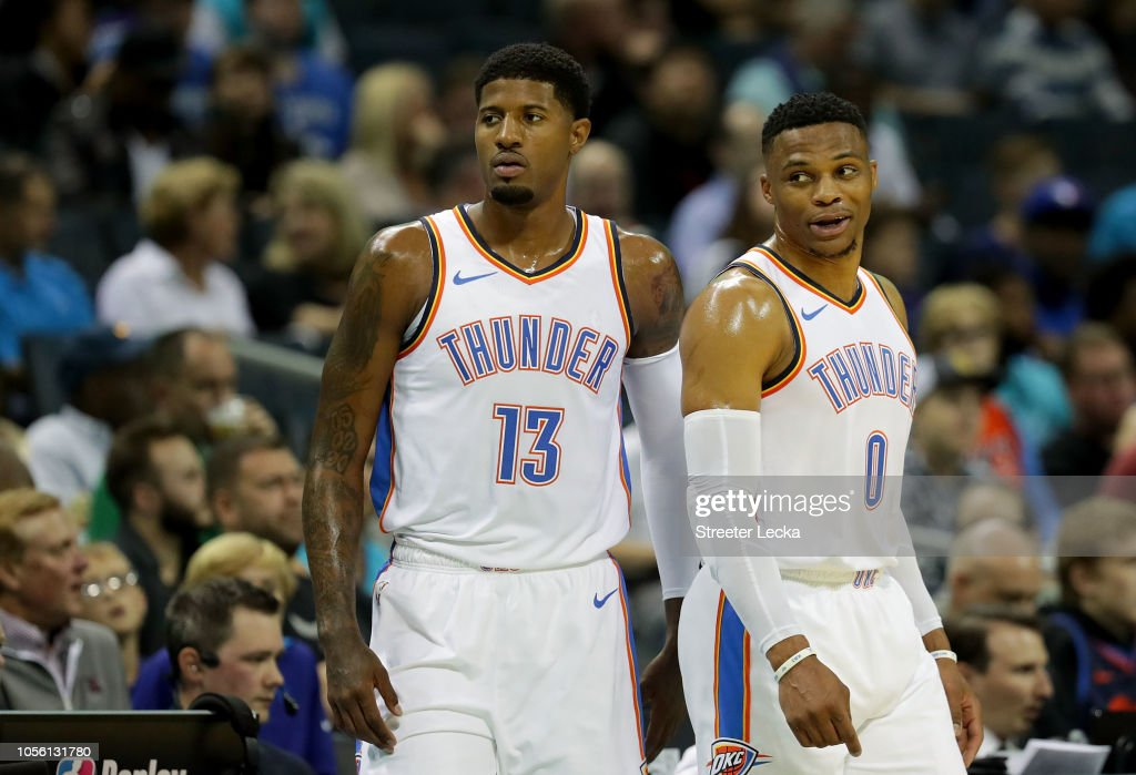 Oklahoma City Thunder v Charlotte Hornets : News Photo