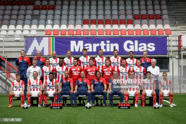 Marc van Griensven of Top Oss during the Photocall FC Oss at the Frans Heesen Stadium on July 18 2018 in Oss Netherlands